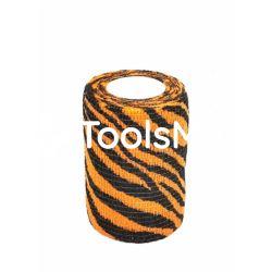 Bandaż kohezyjny 5cm x 450cm tygrysek