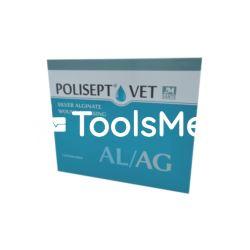 POLISEPT VET AL/AG Opatrunek na rany 10x10 cm