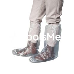 Ochraniacze na obuwie długie z gumką 50 szt/op