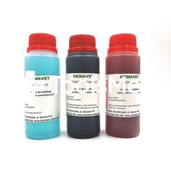 Zestaw do szybkiego barwienia HEMAVET 100 ml